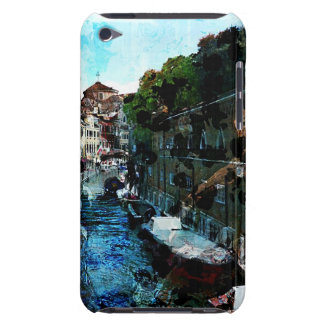 Venice Canal in Italy Red Boat Case-Mate iPod Touch Case