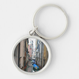 Venice canal premium keychain