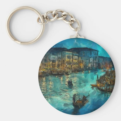 Venice canale grande keychains