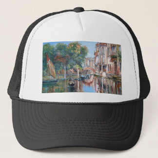 Venice canals trucker hat