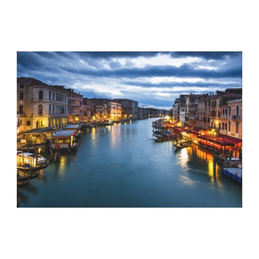 Venice- Canvas Stretched Canvas Print
