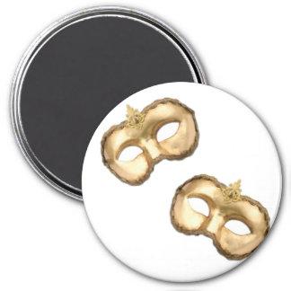Venice Carnival Masks Magnet