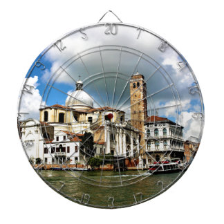 Venice church during the daytime dartboard