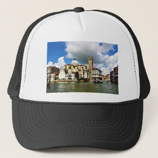 Venice church during the daytime trucker hat