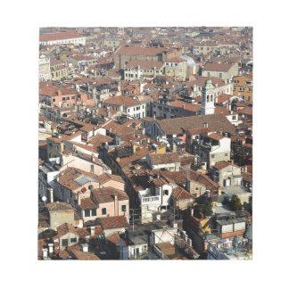 Venice City Skyline Notepad