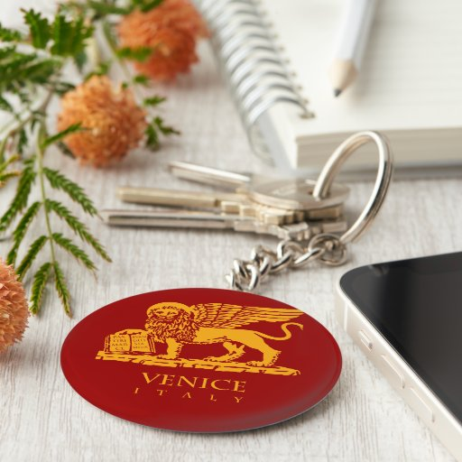 Venice Coat of Arms Key Chain
