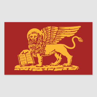 Venice Coat of Arms Rectangular Sticker