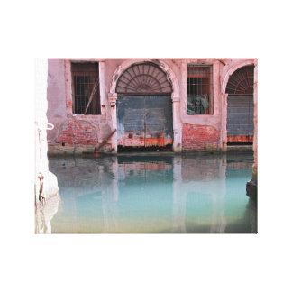 Venice Colors Stretched Canvas Prints