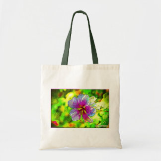 """Venice Flower"" Budget Tote Budget Tote Bag"