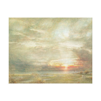 Venice from the Hebrew Cemetery Stretched Canvas Prints