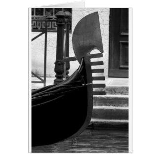 Venice Gondola Card