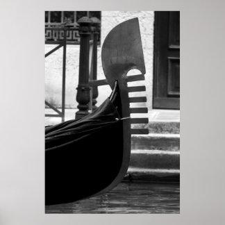Venice Gondola Poster