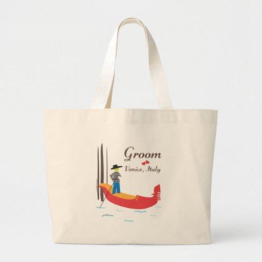 Venice Groom Tote Bag