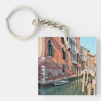 Venice House Square Acrylic Keychain