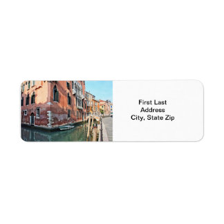 Venice House Return Address Label