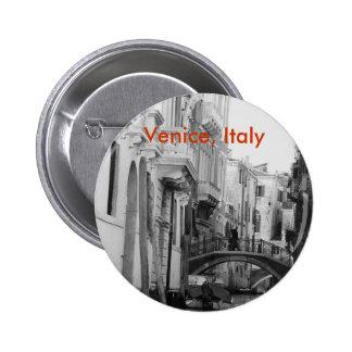 Venice, Italy 6 Cm Round Badge