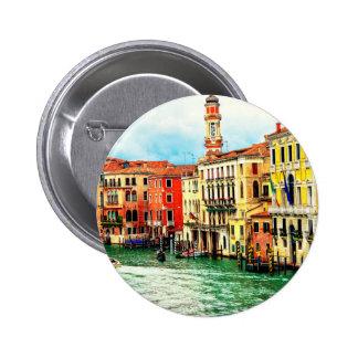 Venice - Italy 6 Cm Round Badge