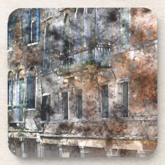 Venice Italy Buildings Coaster