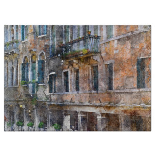 Venice Italy Buildings Cutting Board