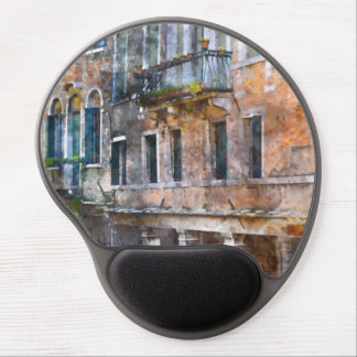 Venice Italy Buildings Gel Mouse Pad