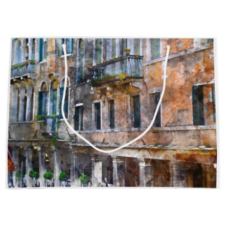Venice Italy Buildings Large Gift Bag