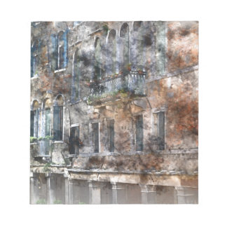 Venice Italy Buildings Notepad