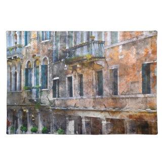 Venice Italy Buildings Place Mat