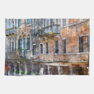 Venice Italy Buildings Tea Towel
