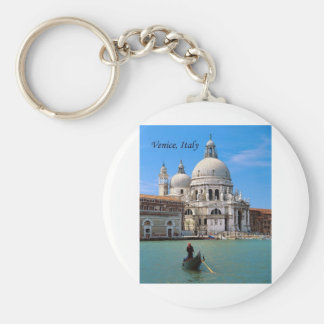 Venice, Italy (by St.K.) Basic Round Button Key Ring
