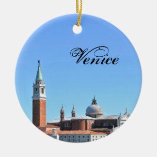 Venice, Italy Ceramic Ornament