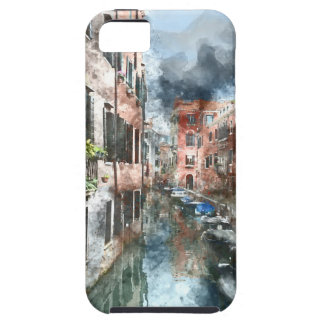 Venice Italy Colorful Buildings and Canals Case For The iPhone 5