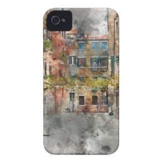 Venice Italy Colorful Buildings and Canals iPhone 4 Case-Mate Cases