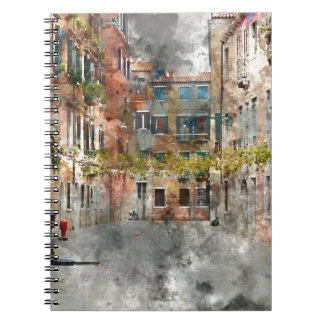 Venice Italy Colorful Buildings and Canals Notebooks