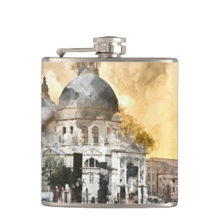 Venice Italy Flask