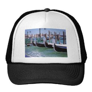 Venice Italy Gondola Boats Italian Romance Hat