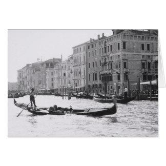 Venice Italy Gondola Grand Canal Greeting Card