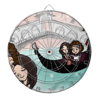 Venice Italy Gondola Ride Dartboard