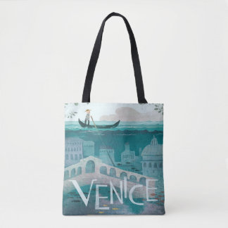 Venice Italy Gondola travel vacation vintage Tote Bag
