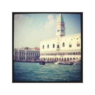 Venice Italy grand canal photograph on canvas