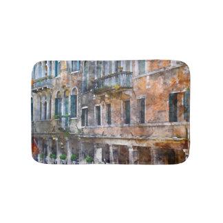 Venice Italy Historic Buildings Bath Mat