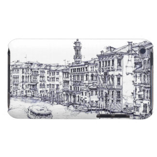 Venice, Italy, in ink iPod Touch Case-Mate Case