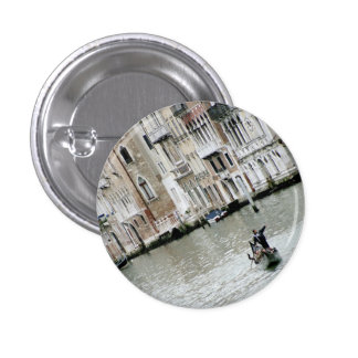 Venice, Italy: On the Grand Canal 3 Cm Round Badge