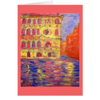 Venice Italy peace on earth Greeting Card