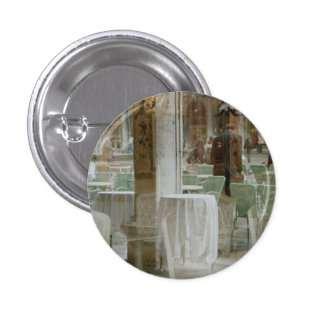Venice, Italy: Piazza San Marco, St. Mark's Square 3 Cm Round Badge
