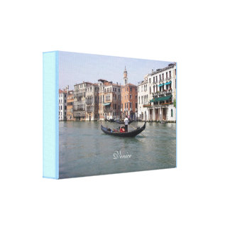 Venice, Italy - Premium Wrapped Canvas (Gloss) Canvas Prints