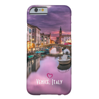 Venice, Italy Scenic Canal & Venetian Architecture Barely There iPhone 6 Case