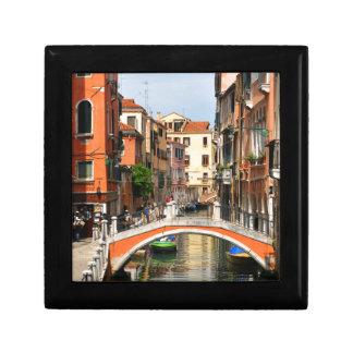 Venice, Italy Small Square Gift Box
