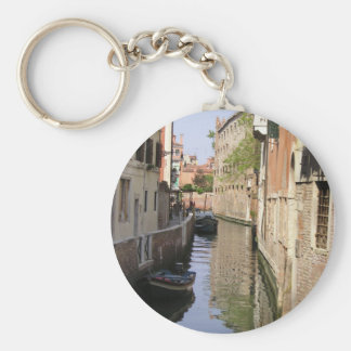 Venice Basic Round Button Key Ring