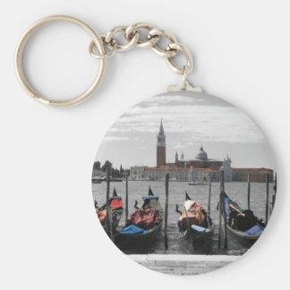 Venice Keyring Basic Round Button Key Ring