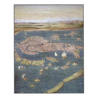 VENICE: MAP, 16TH CENTURY